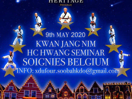 Belgium May 2020 KJN SEMINAR.