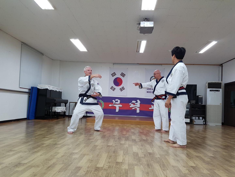 Miles and Matt Hitch in Korea