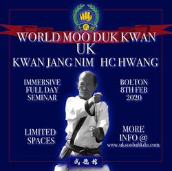 UK World Moo Duk Kwan KJN Seminar