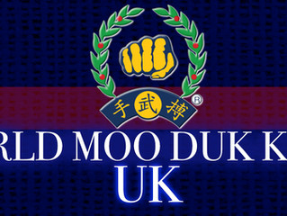 New UK World Moo Duk Kwan page.