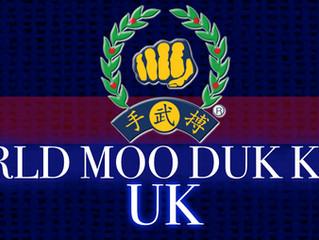 New UK World Moo Duk Kwan page.