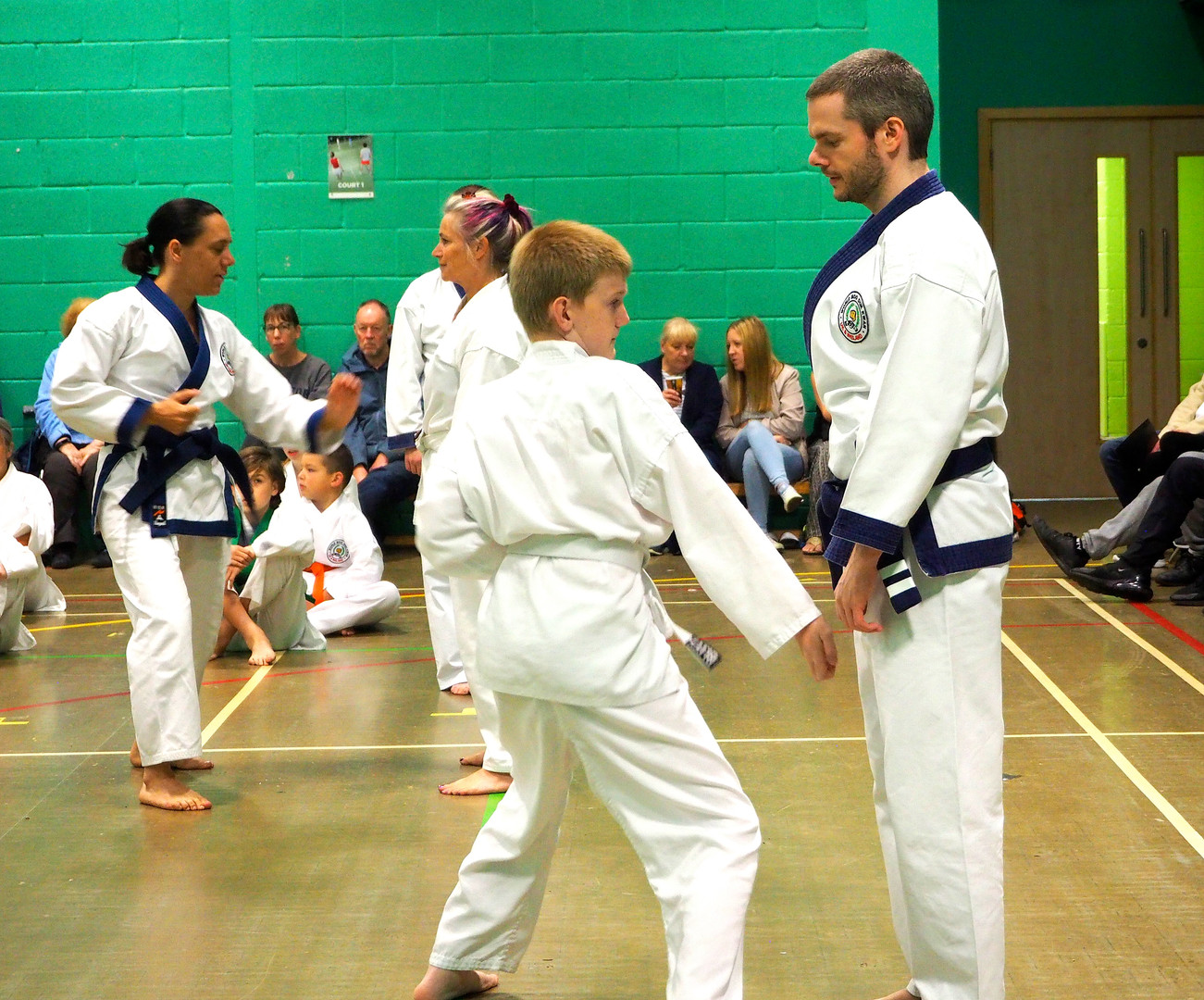 UK Soo Bahk Do grading, UK World Moo Duk Kwan