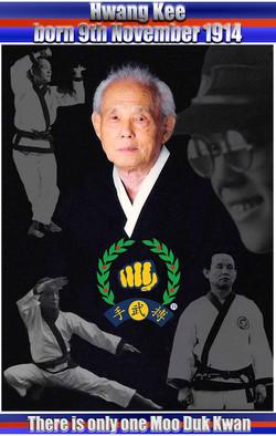 Hwang Kee Founder of Moo Duk Kwan
