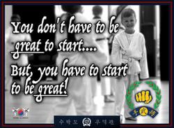 Join the Soo Bahk Do Academy.