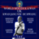 World Moo Duk Kwan UK Kwan Jang Nim event