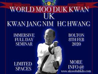 Kwan Jang Nim UK Visit 2020!