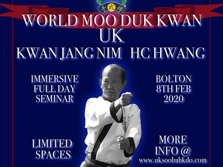 UK Kwan Jang Nim Seminar!