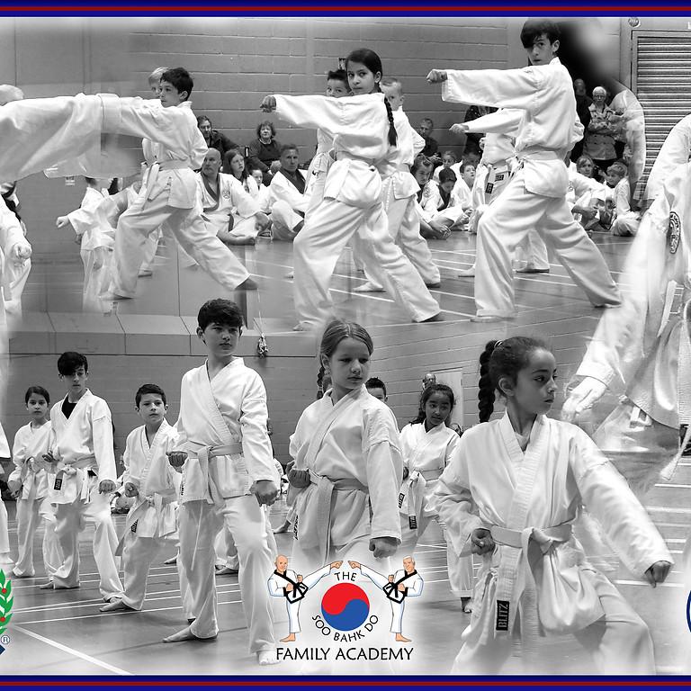 UK Soo Bahk Do September Grading.