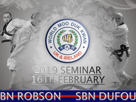 UK Soo Bahk Do 2019 Seminar