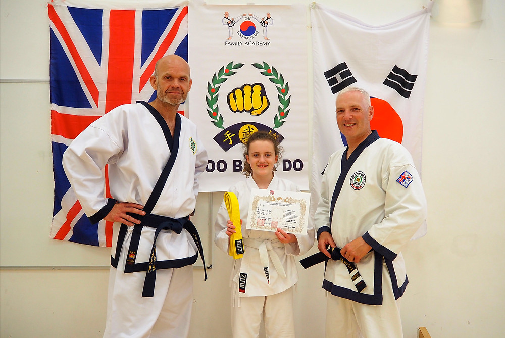 UK Soo Bahk Do MDK Federation Grading