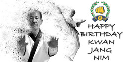 UK Soo Bahk Do  Kwan Jang Nim Birthd