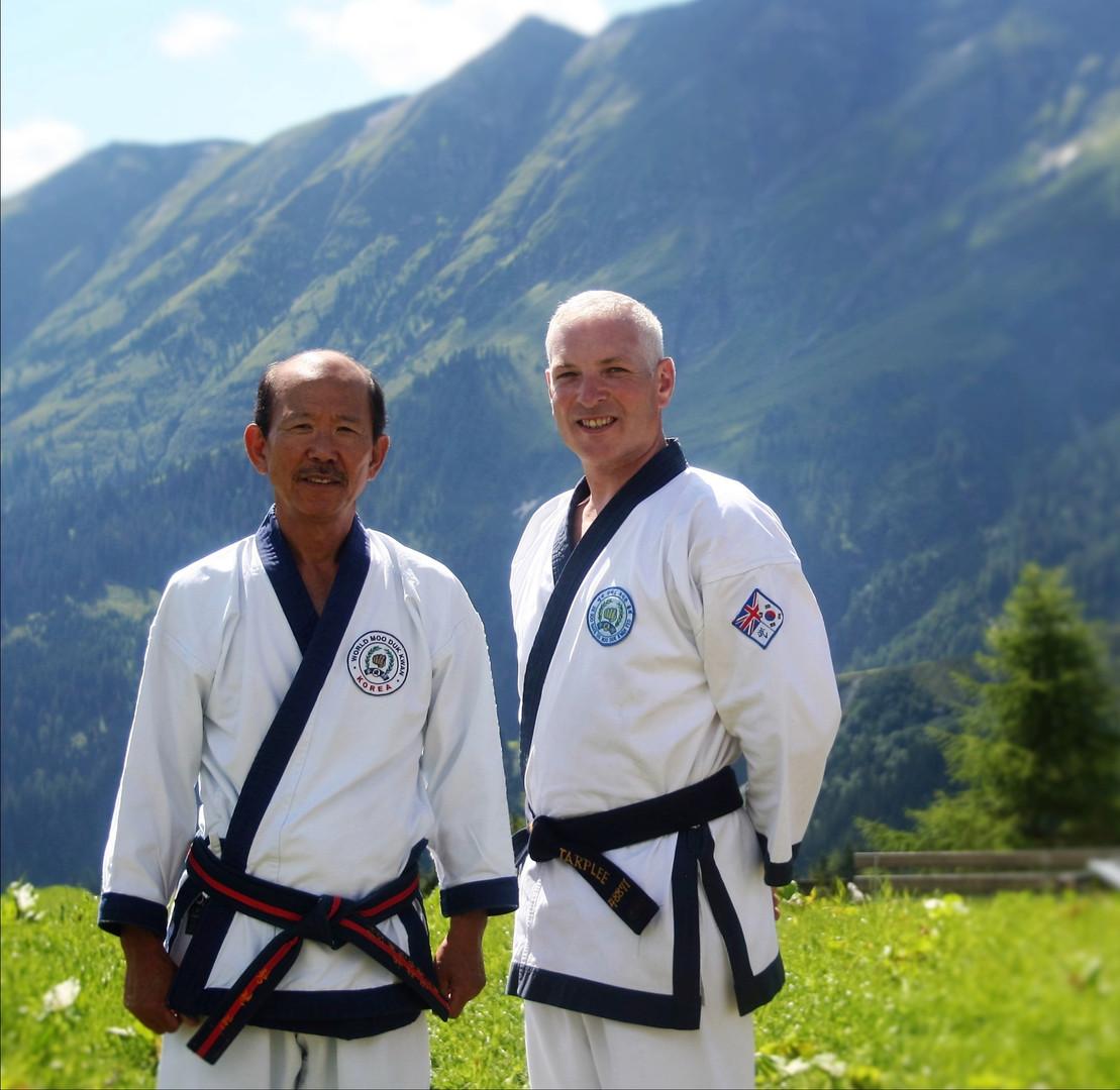 Miles and Kwan Jang Nim, HC Hwang.