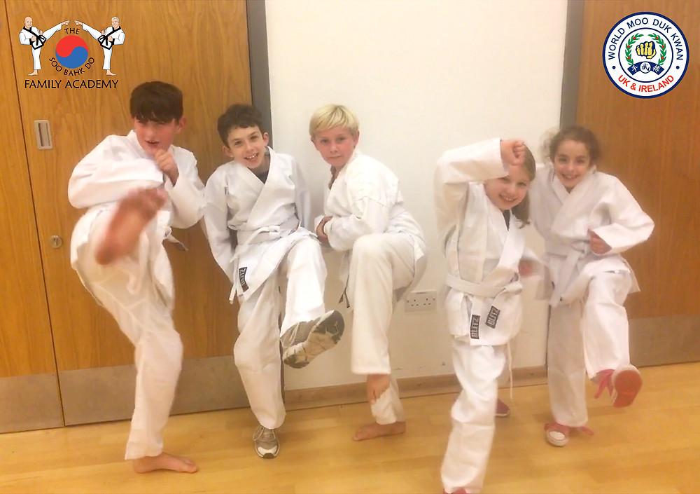 UK Soo Bahk Do Family Academy newcomers