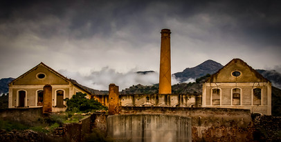 Abandoned Sugarmill, Spain