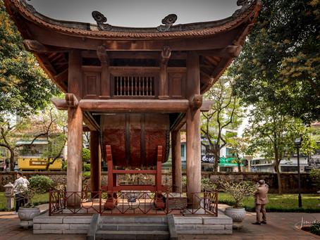 Dag 1/2f Vietnam: Tempel der Literatuur