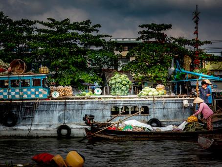 Dag 19: Drijvende markt Cai Rang, laatste dag