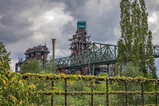 Abandoned Steel Factory, Duisberg, Germany