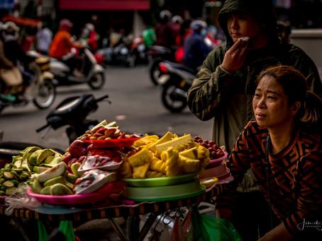 Dag1/2e Vietnam: Hanoi: The Old Quarter