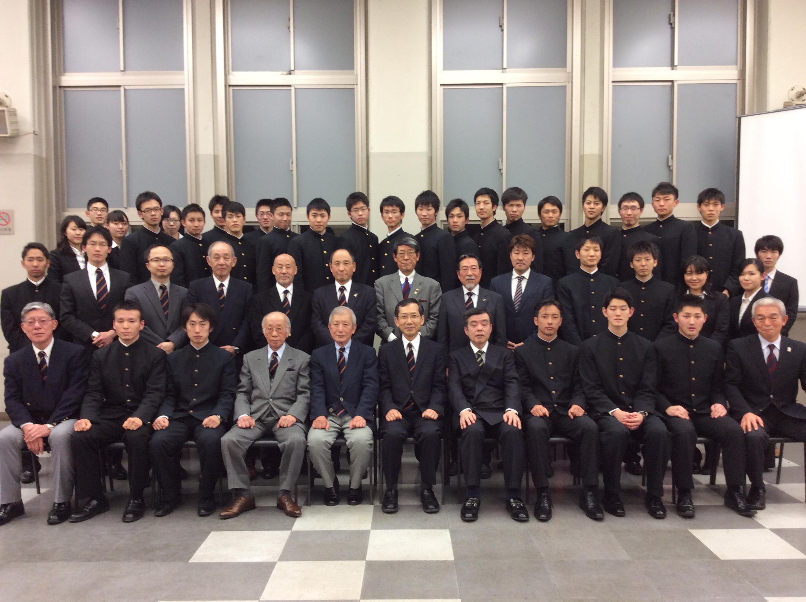 卒業生送別会@三田生協食堂_2014.3.1