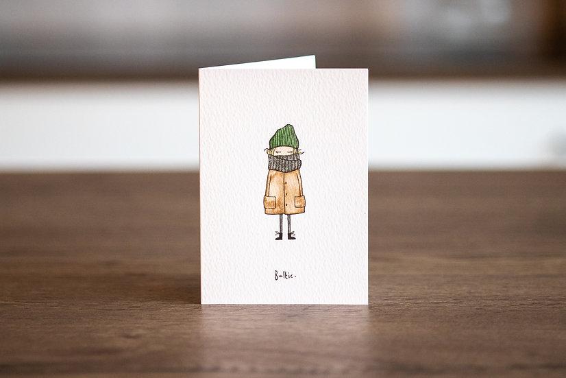 'Baltic' Greetings Card