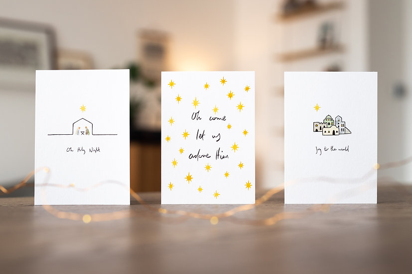 Assorted Christmas Cards Multipack