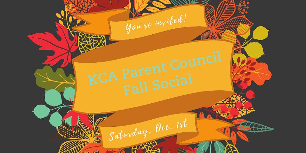 KCA Parent Council Fall Social