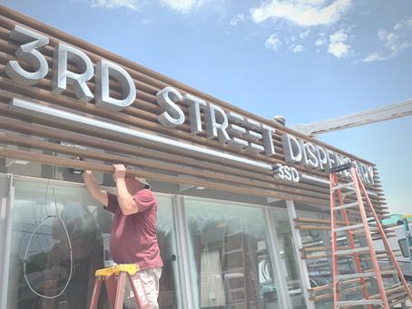 Constructing 3rd Street Dispensary