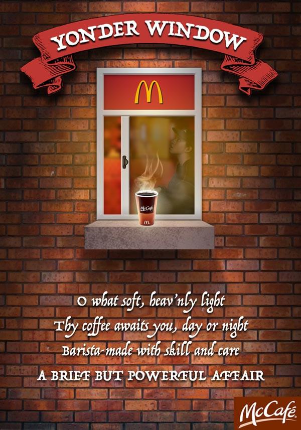 McCafe Yonder Window