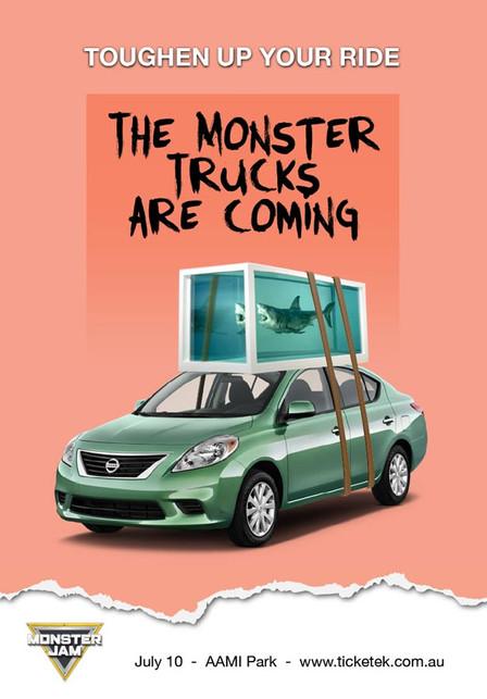 Monster Jam - Promo Poster 2