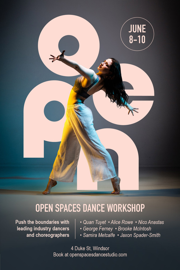 Dance Workshop - Promo Poster