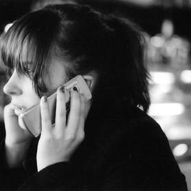 Melanie on a call