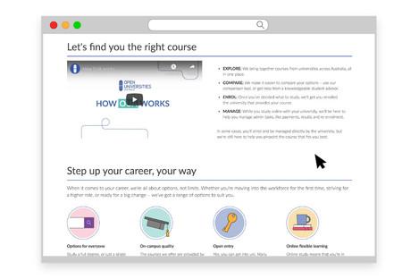 'How it Works' webpage