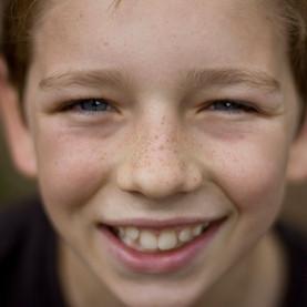 Marcus grins