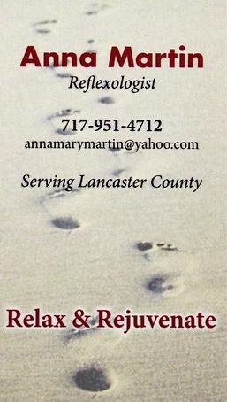 Anna Martin Business Card
