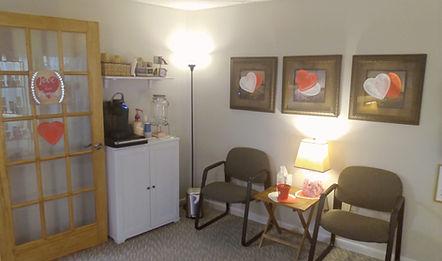 Central Penn Reflexology's Waiting Room