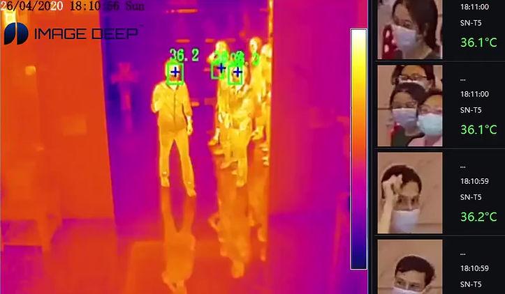 ImageDeep Mass Fever Detection