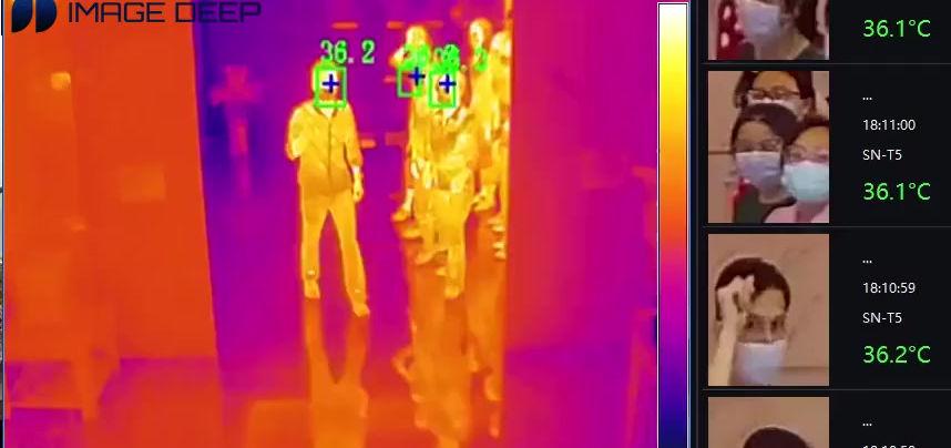 ImageDeep Mass Fever Detection Solution