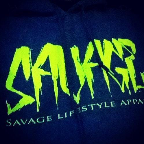 "Men's & Women's ""Savage Lifestyle"" Hoodie"