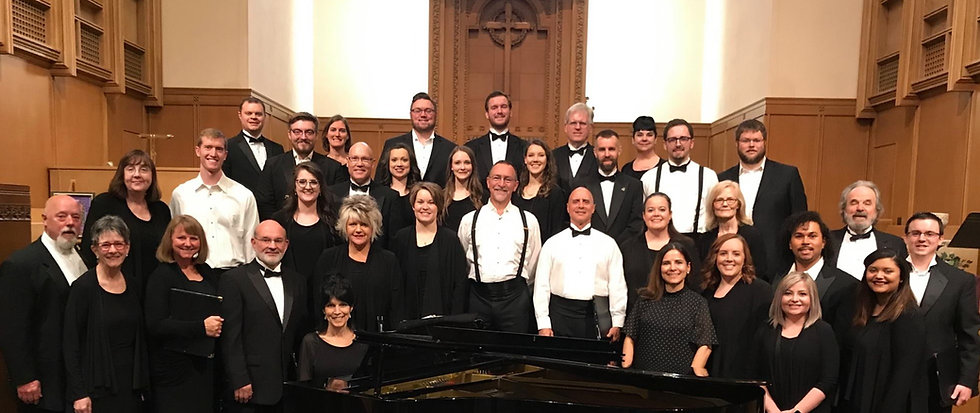 Wichita Chamber Chorale - East Heights Methodist - 2019