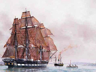 """""""USS Jamestown"""" and America's First Humanitarian Mission"""