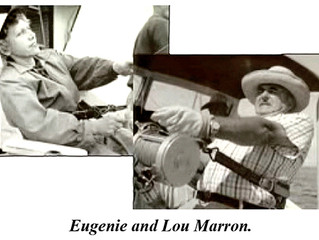 Eugenie & Lou Marron, Big Game Fishermen