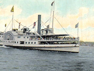"Old Faithful - The Steamboat ""Block Island"""
