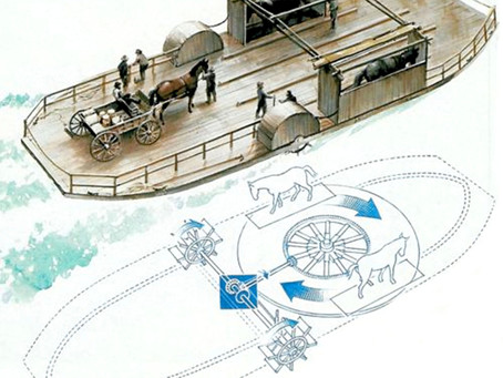 The Horse-Powered Ferry