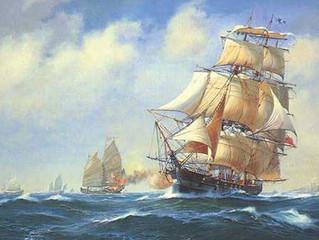 """Clipper Ship """"Falcon"""""""