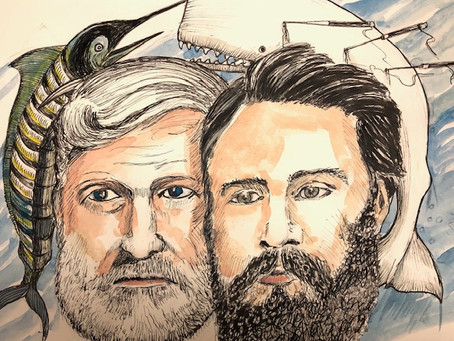 Herman Melville and Ernest Hemingway