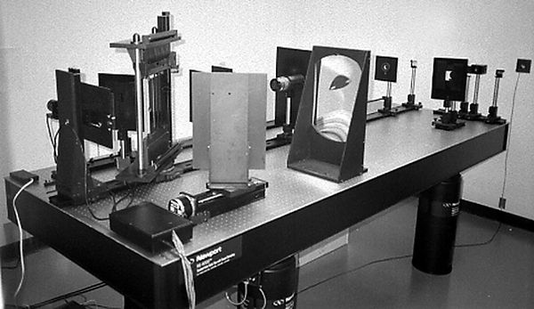 The DI-HO 3D digital holographic stereogram printer.