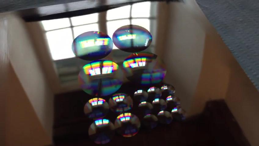 A group of 600nm deep Fresnel lenses for hard embossing