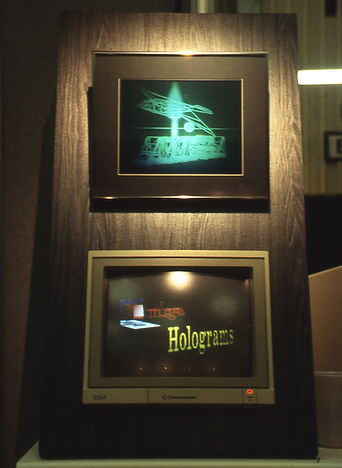 The first home microcomputer holographic stereogram