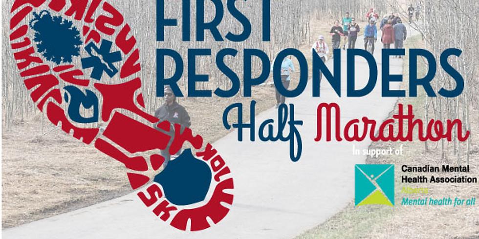 First Responder Half Marathon - April 25th, 2021.
