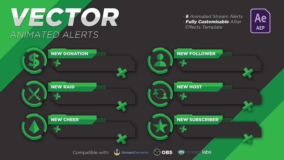 Vector (Green) Alerts